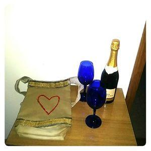 Handmade wine bag